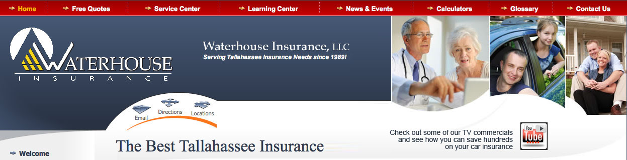 Low Cost Tallahassee Insurance :: Waterhouse Associates :: Best Rates for Insurance Tallahassee Florida FL